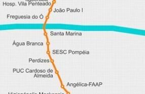 Linha 6 – Laranja do metrô de São Paulo